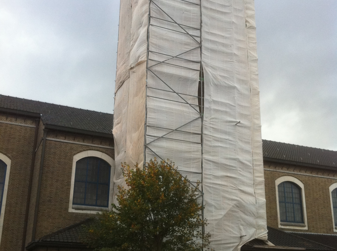 Renovatie kerktoren